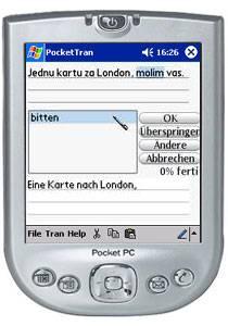 PocketTran Bosnisch in Deutsch übersetzung 3