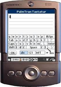 PalmTran Bosnisch Tastatur
