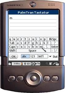 PalmTran Niederländisch Tastatur