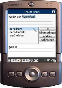 PalmTran Deutsch in Bosnisch übersetzung