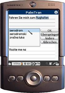 PalmTran Deutsch in Kroatisch übersetzung