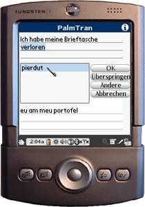 PalmTran Deutsch in Rumänisch übersetzung 4