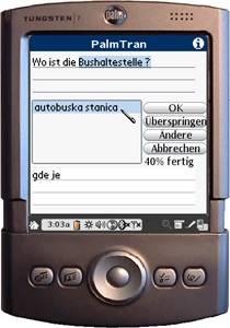 PalmTran Deutsch in Serbisch übersetzung