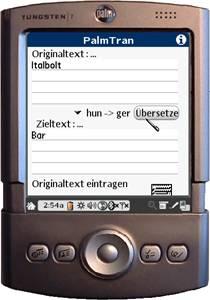 PalmTran Ungarisch in Deutsch übersetzung