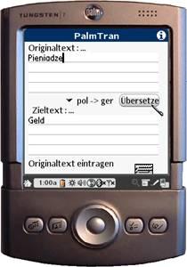 PalmTran Polnisch in Deutsch übersetzung 2