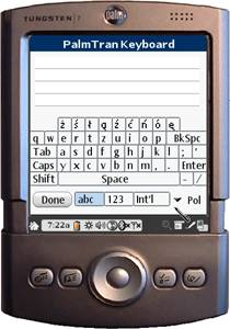 PalmTran Polnisch Tastatur